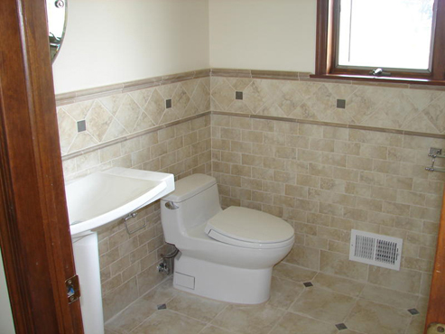 Half Bath Decorating Ideas Half Bath Decorating Ideas With Floor Tiles