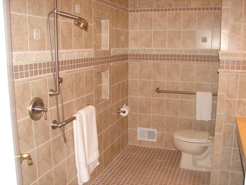 Lara Construction Bathroom Remodeling - Ada compliant bathroom tile